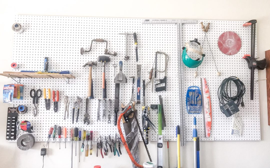 Portland Family Gets Garage Organized and Reclaims Workbench