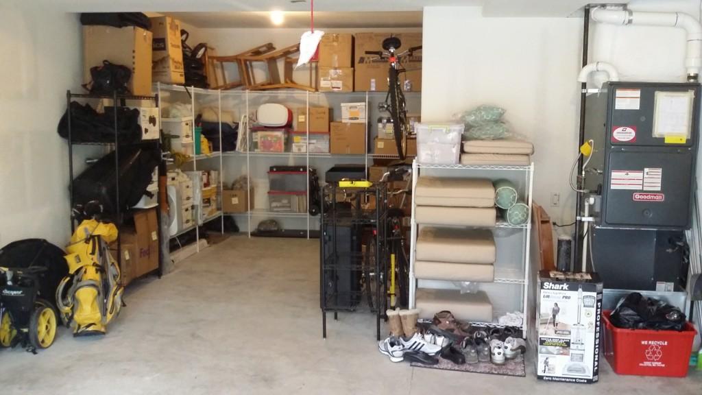 Categorize for a streamlined garage