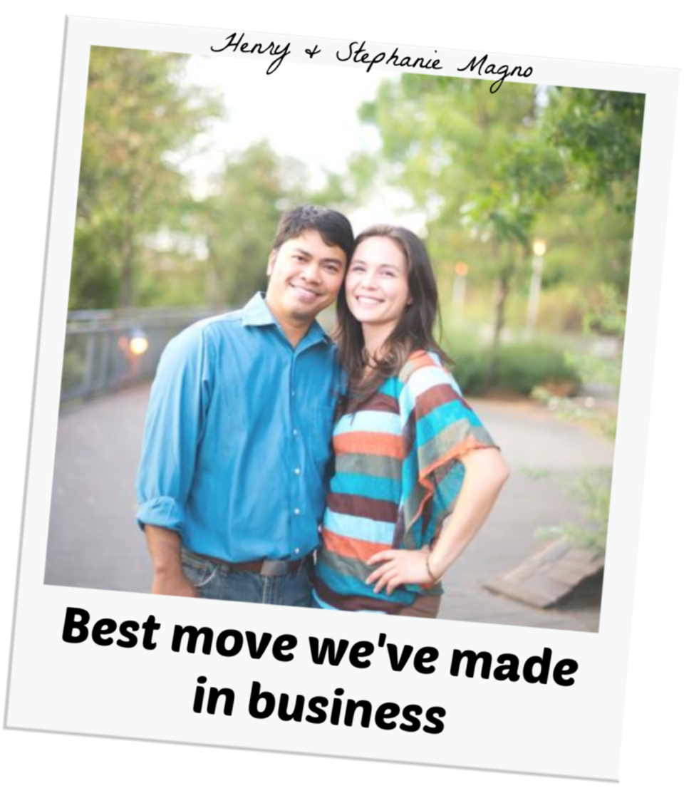Stephanie & Henry Magno - Best Move We've Made in Business