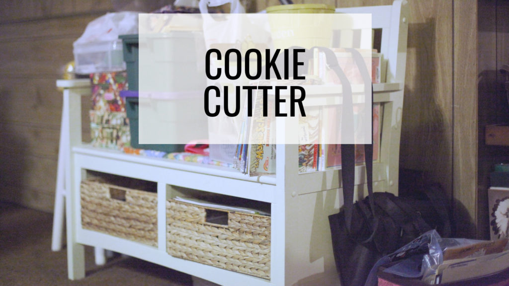 Common Organizing Mistakes - Cookie Cutter
