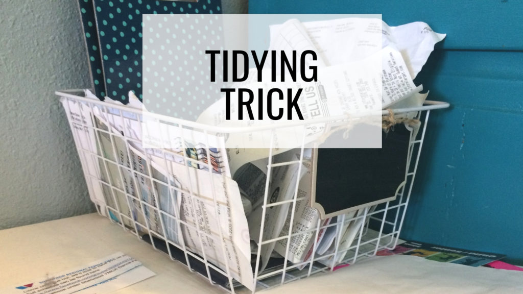 Common Organizing Mistakes - Tidying Trick