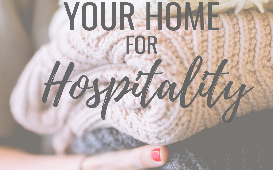 Prepare Your Home for Hospitality (Free Book Chapter Giveaway Series)