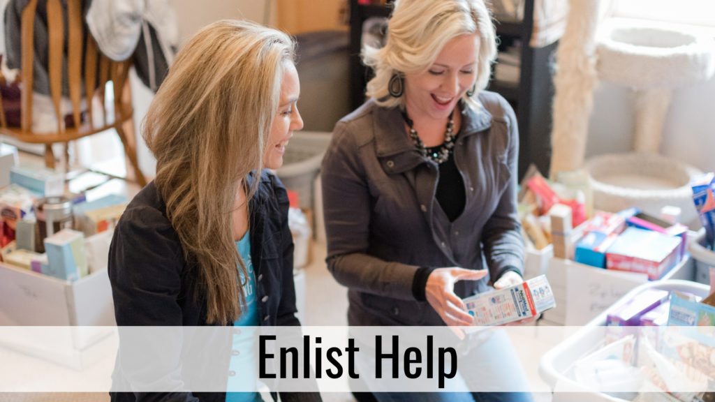 Organize for Holiday Hospitality - Enlist Help