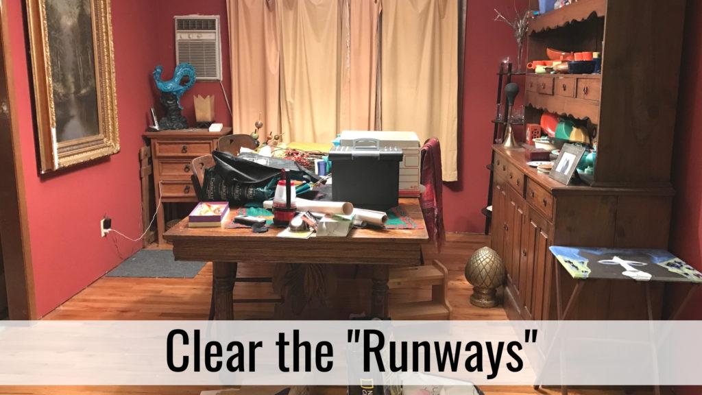 Organize for Holiday Hospitality - Runways