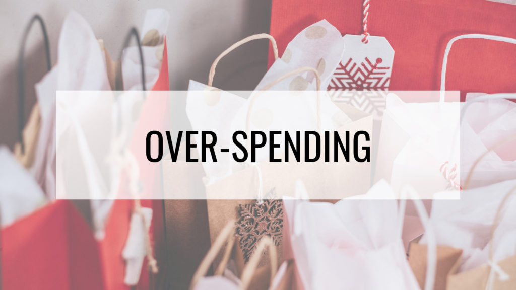 Stress-free holidays - overspending