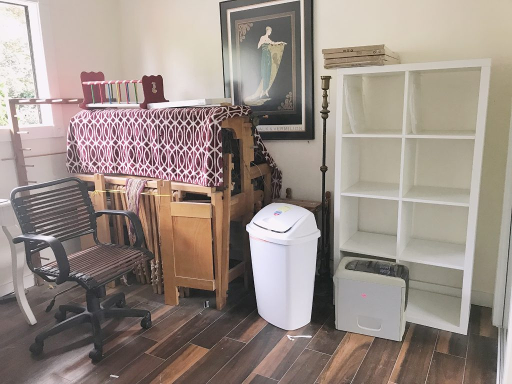 Family Organization Center - Cleaned out room