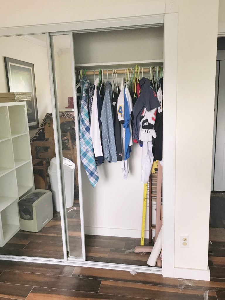 Family Organization Center - Closet