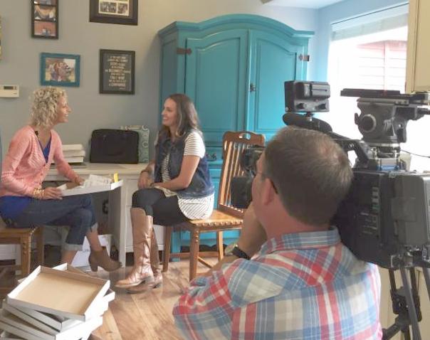 Vicki Norris Filming for MGDO