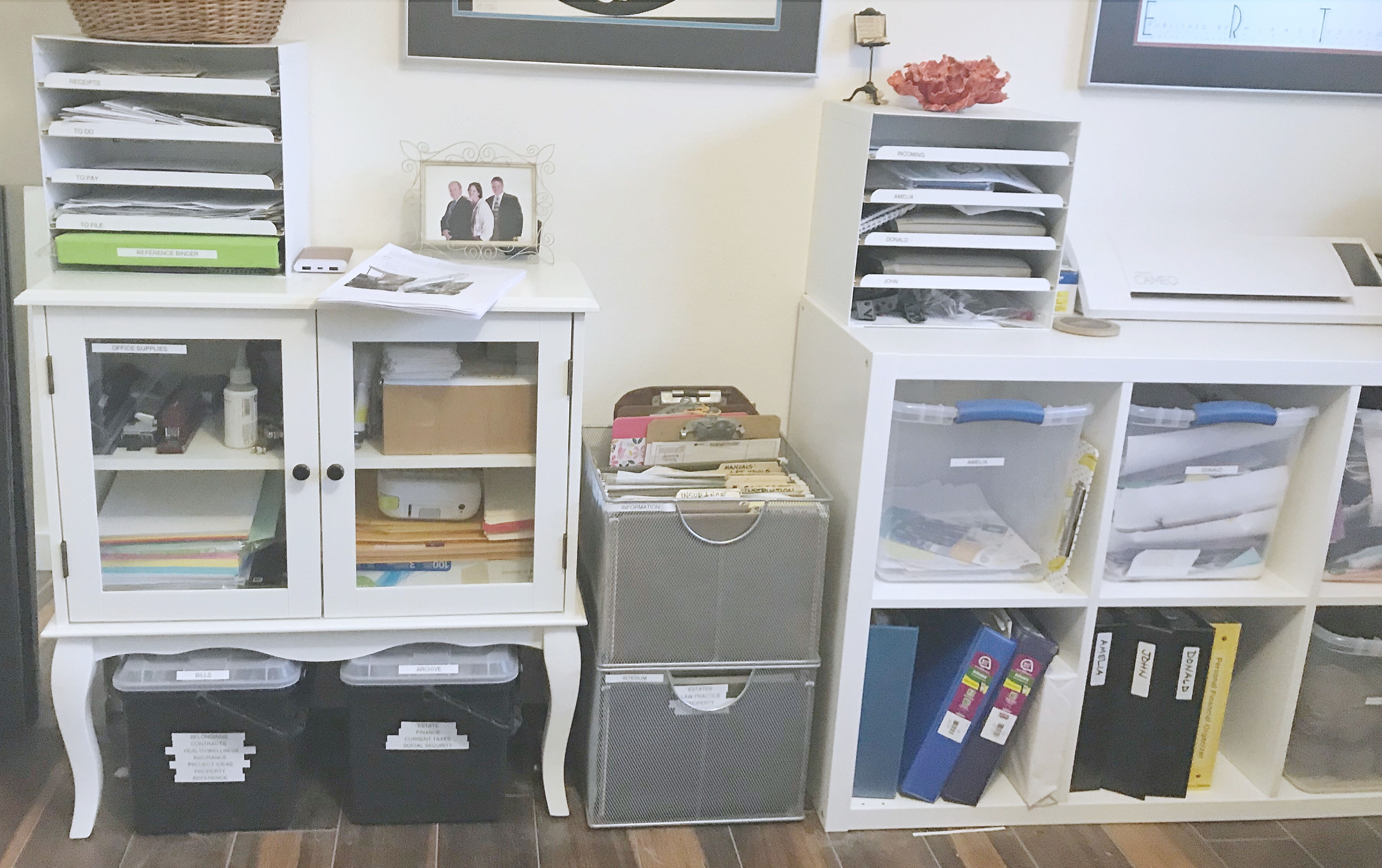 Turn Your Home Office into a Family Organization Center