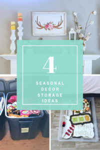4 Seasonal Decor Storage Ideas