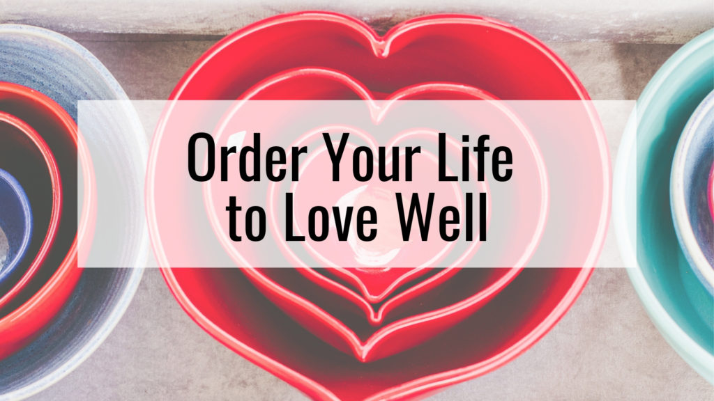 Stacking heat bowls - Order your life to love well