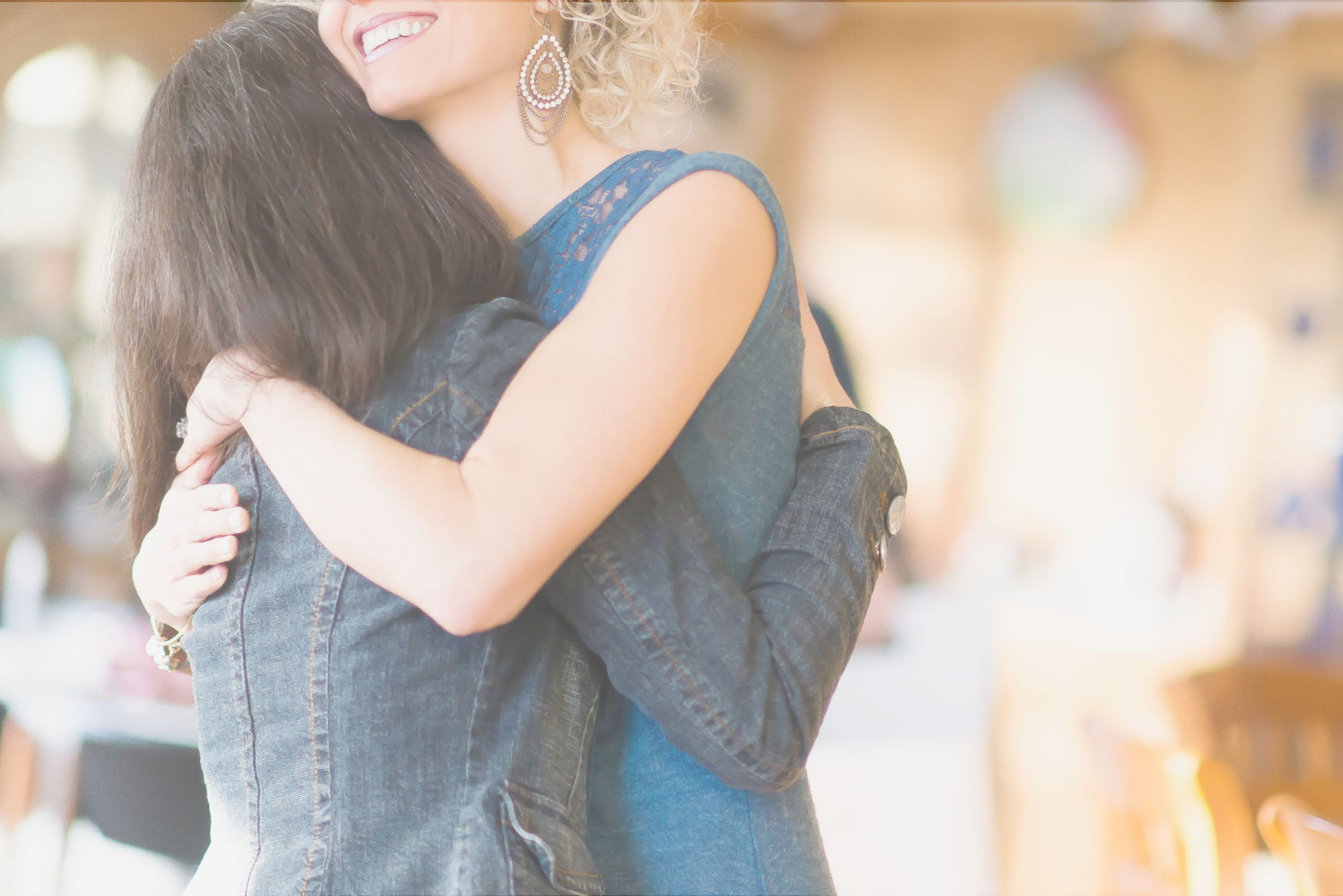 Women hugging - order your life to love well