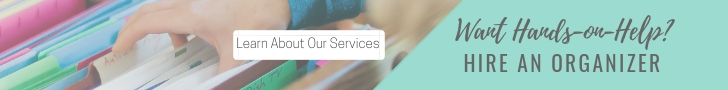 Portland Professional Organizing Services - Paper