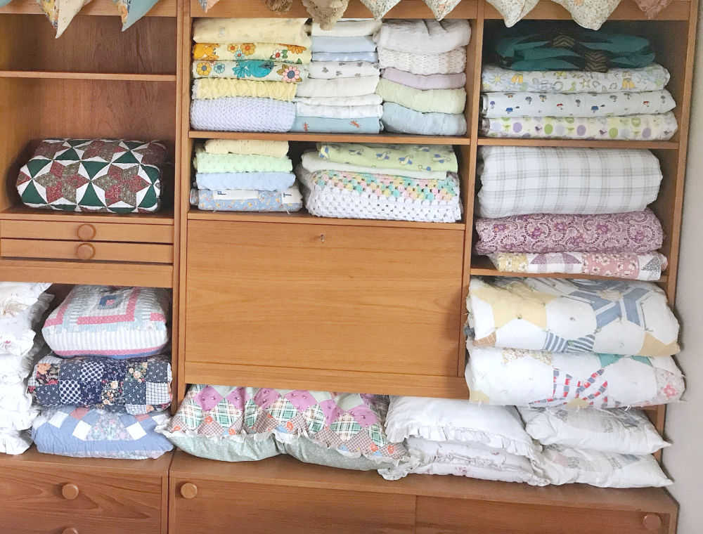 Seasonal Decor Storage - Blankets