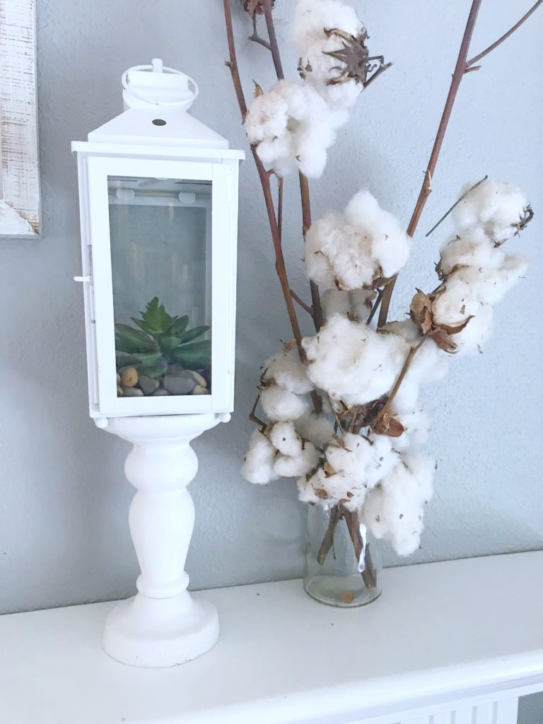 Seasonal Decor Storage - Lantern
