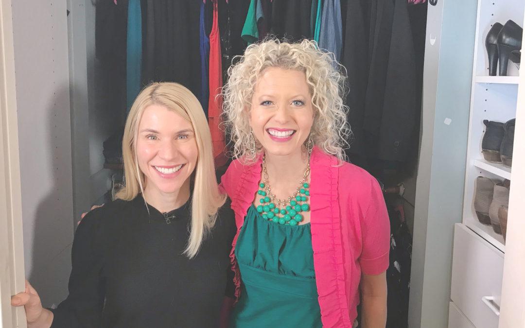 TV Host Master Closet Makeover