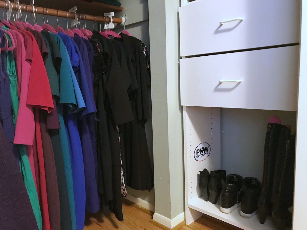 TV Host Master Closet Makeover - Shoes