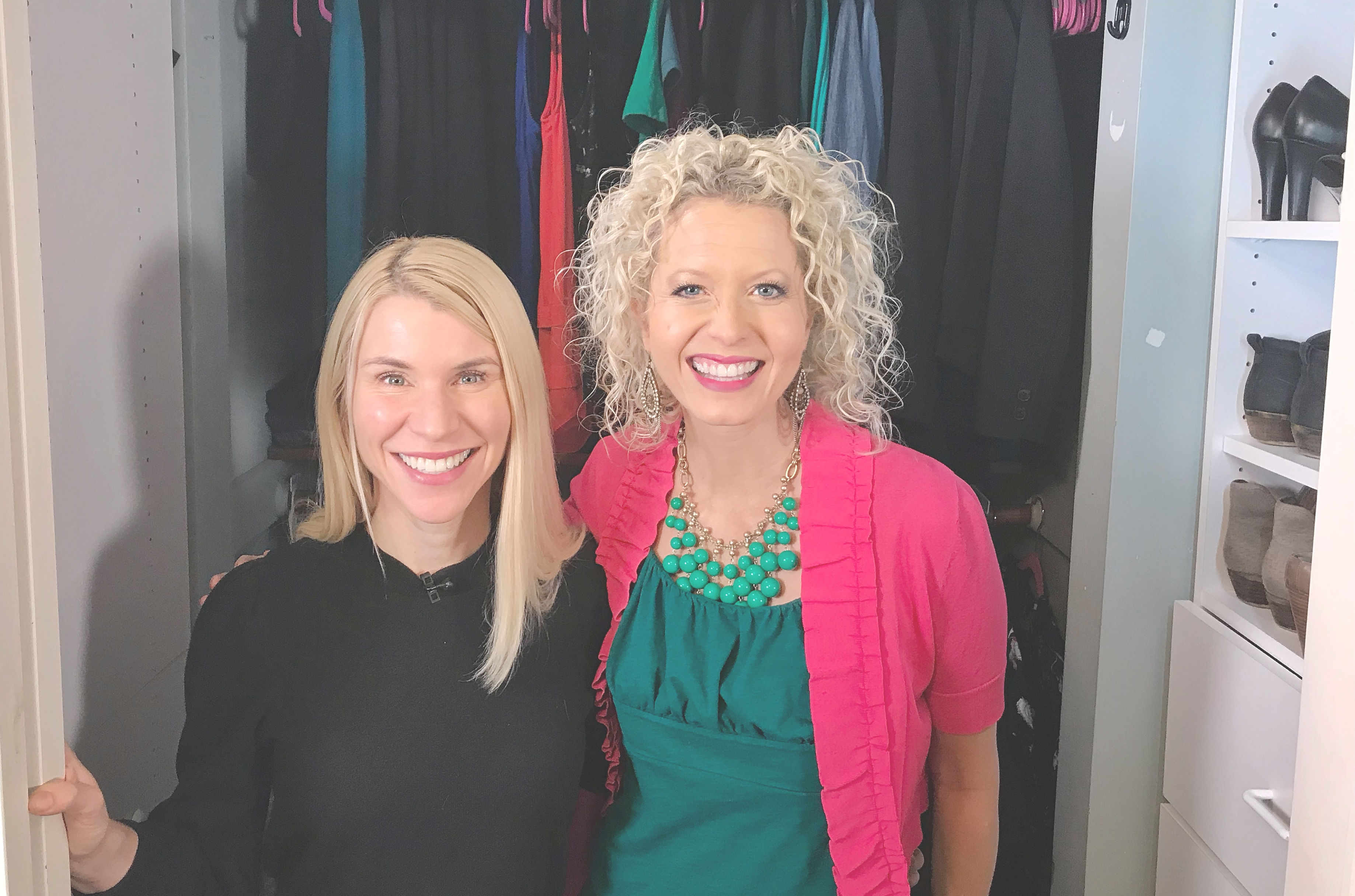 TV Host Master Closet Makeover