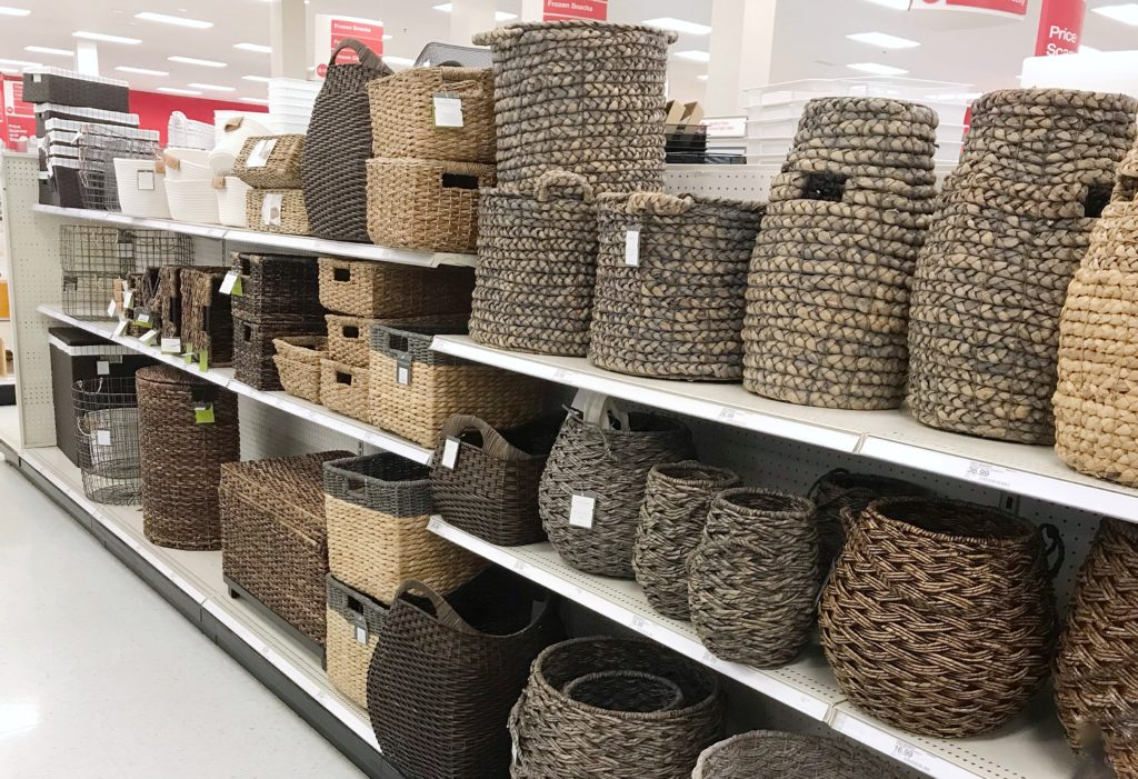 Best Organizing Products - Woven Baskets