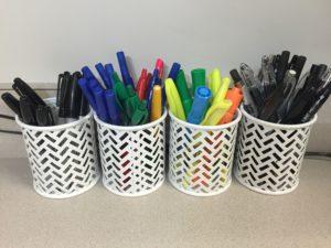 Pen Organizing Tins