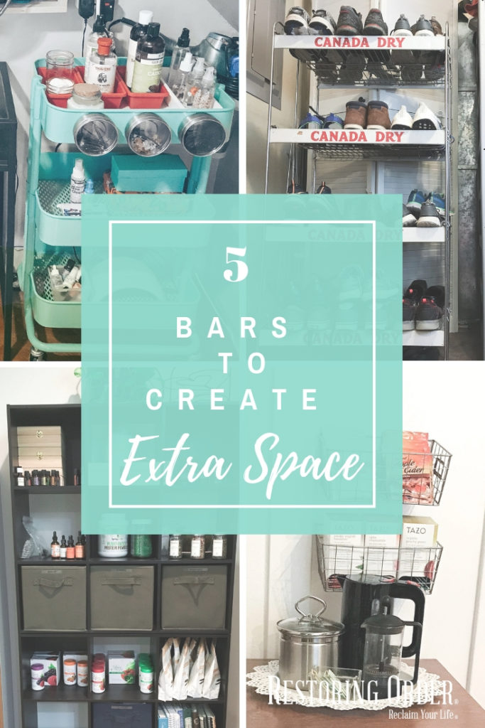 5 Bars to Create Extra Space