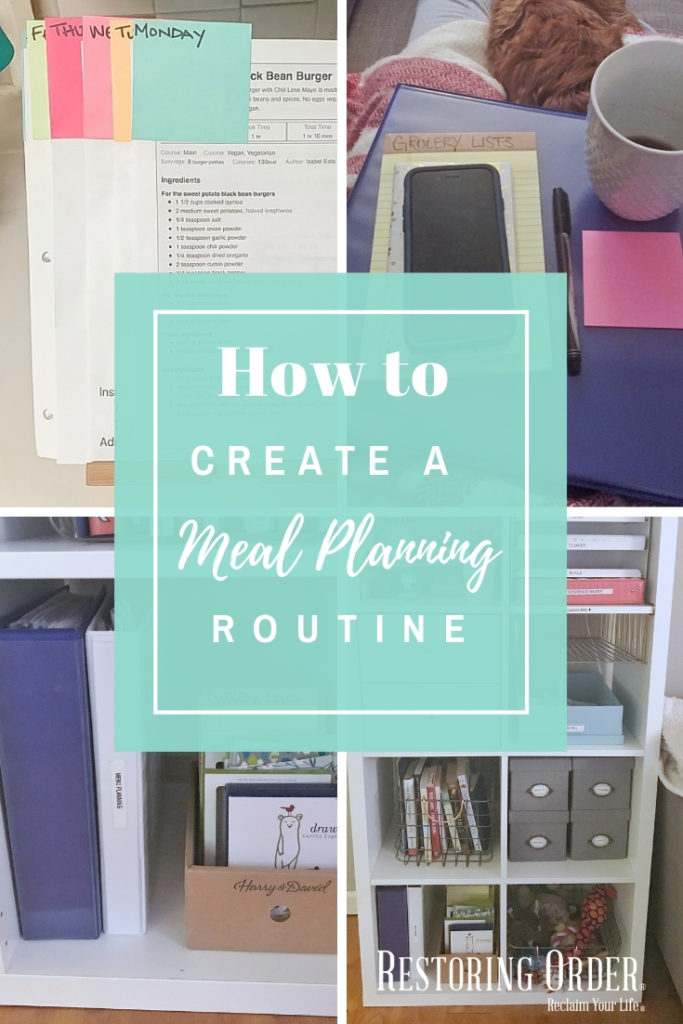 How to Create a Meal Planning Routine