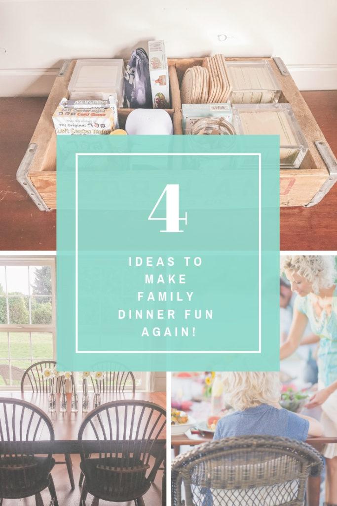 Ideas to Make Family Dinner Fun Again