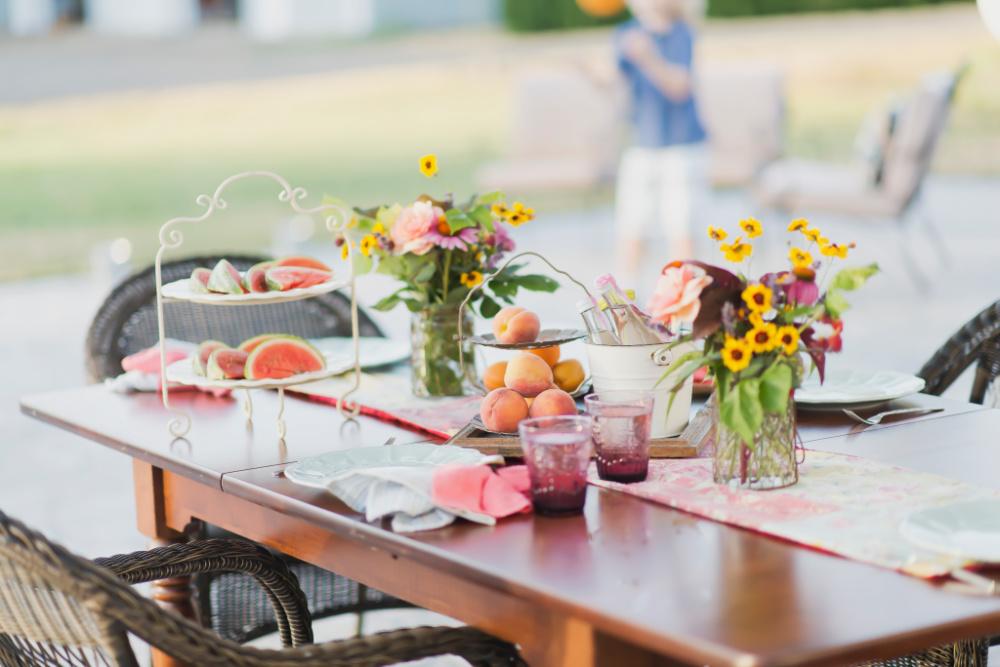 Reclaim the Family Dinner Table - Decor