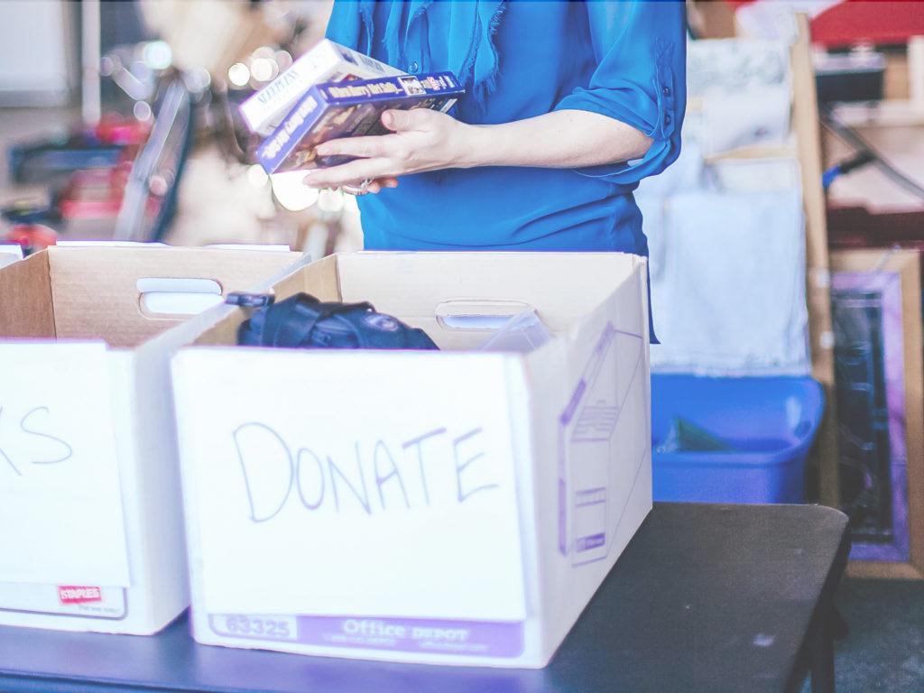 Donate Clutter Box