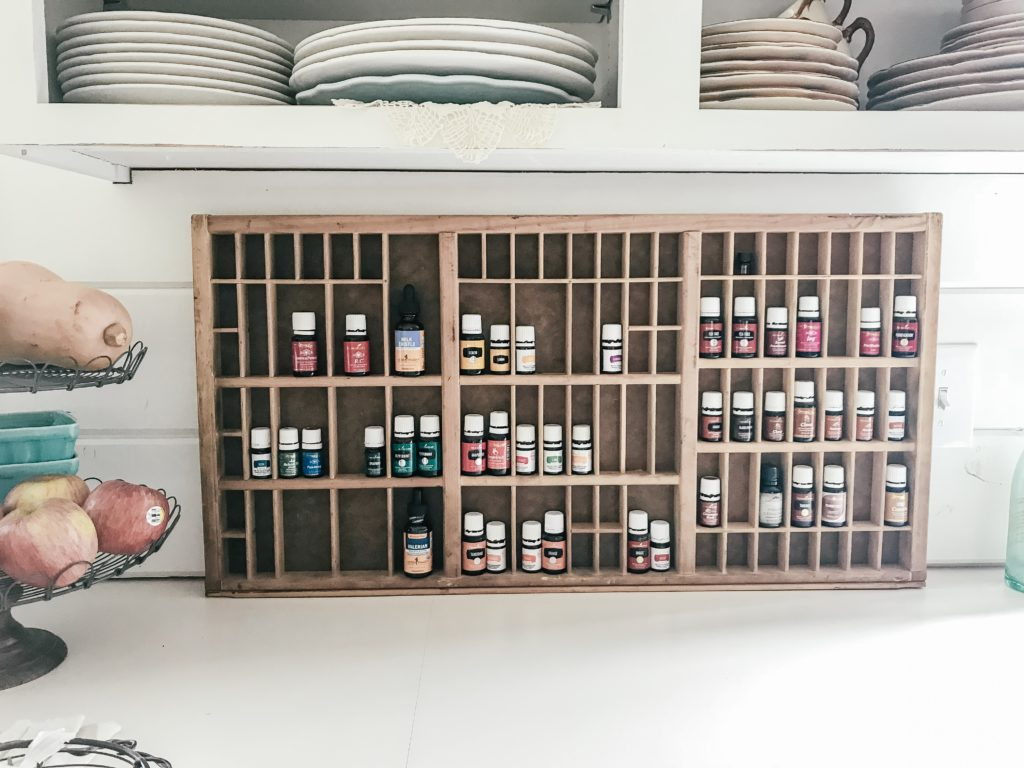Essential Oils Organizing