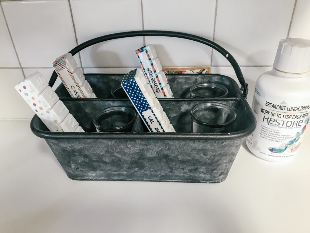 Vitamin Caddy for Supplements