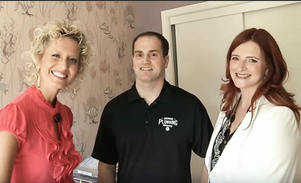 Vicki Norris with Clients