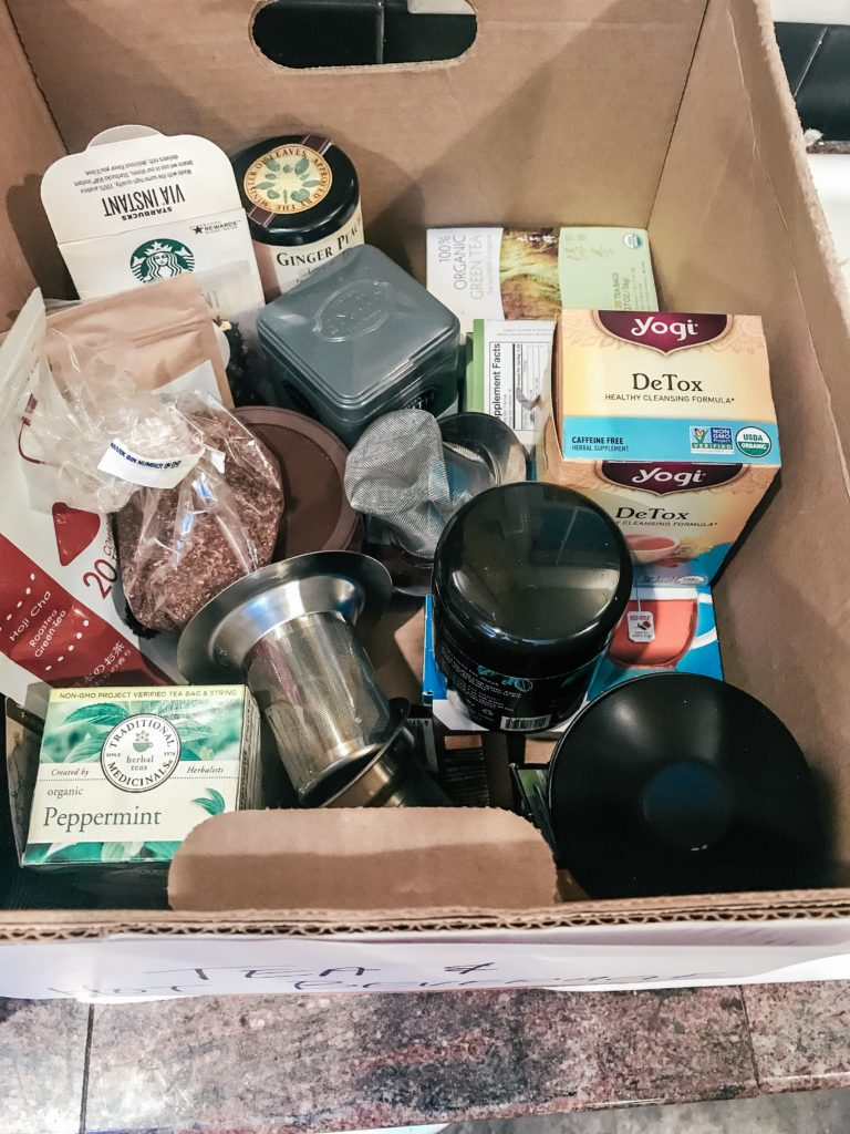 Food in box