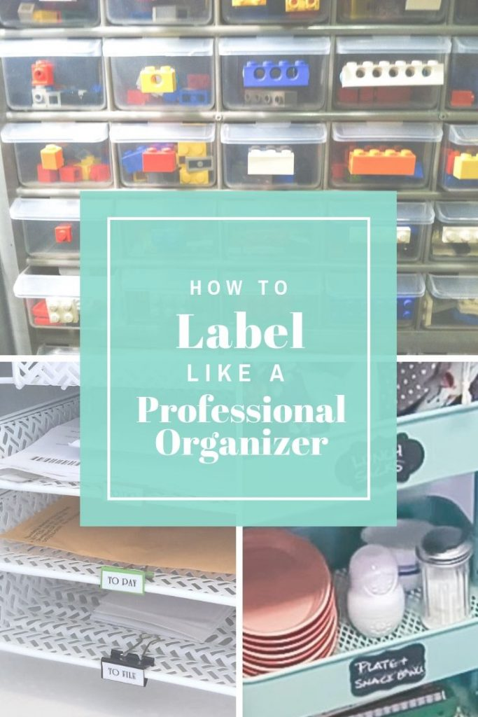 How to Label like a Professional Organizer