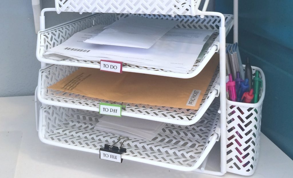 How to Label - Binder Clips