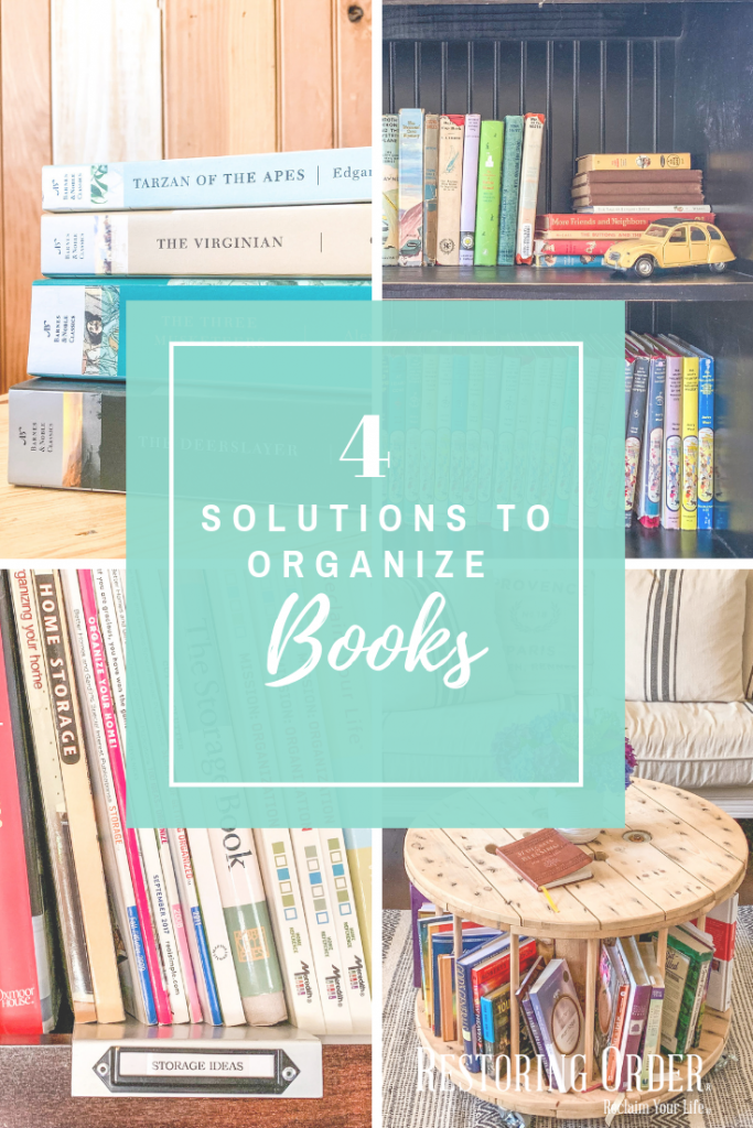 Solutions to Organize Books