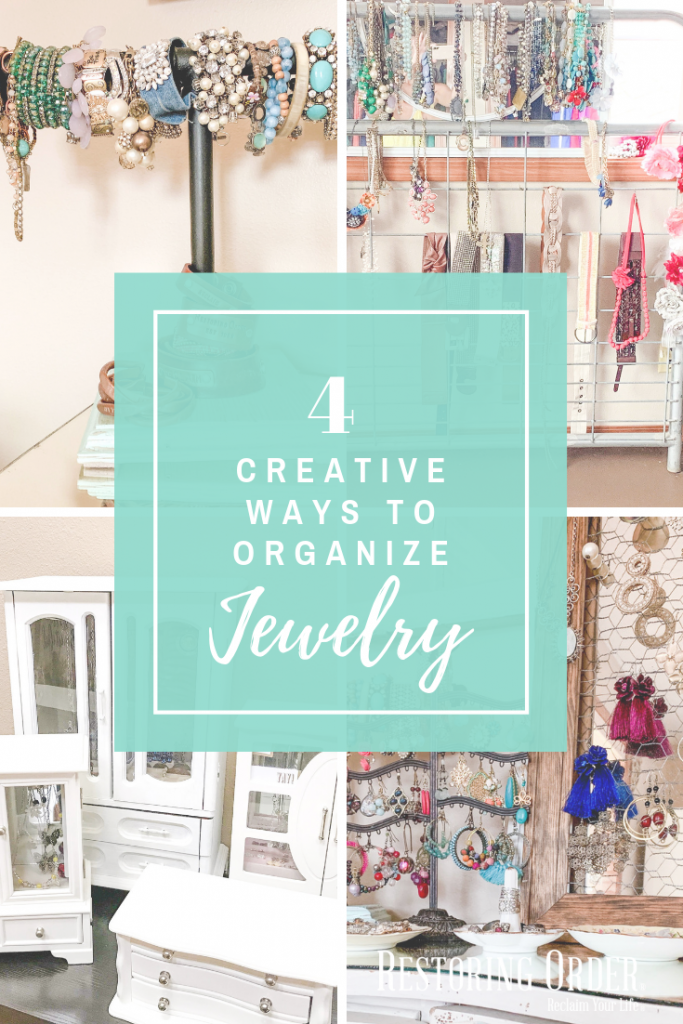 4 Creative Ways to Organize Jewelry
