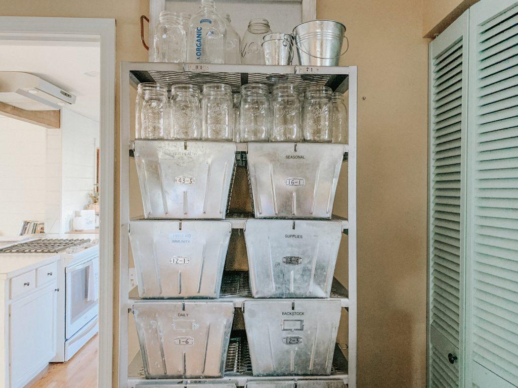 Health Supplements Storage