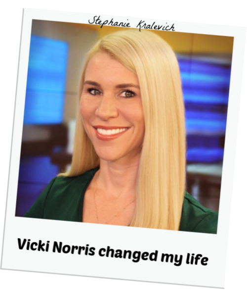 Stephanie Kralevich - Vicki Norris Changed My Life
