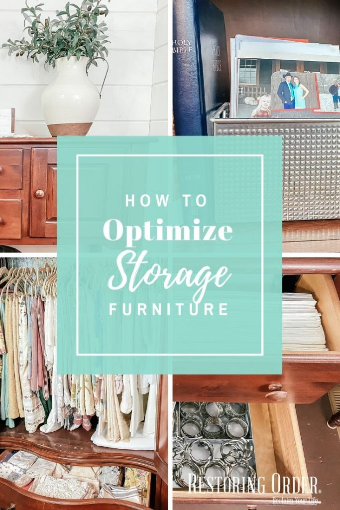 How to optimize storage furniture