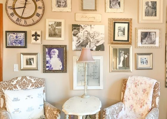 Organize Your Family - Gallery Wall
