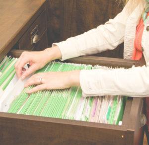 Paper Organization - Permanent Filing System