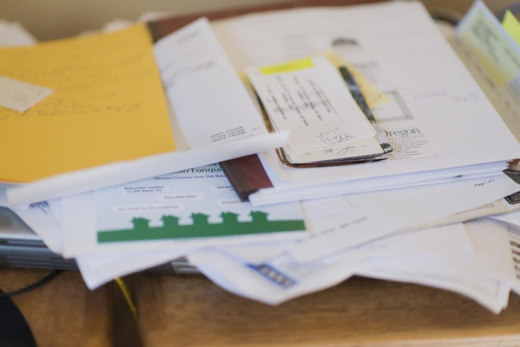 Paper Organization - Clutter