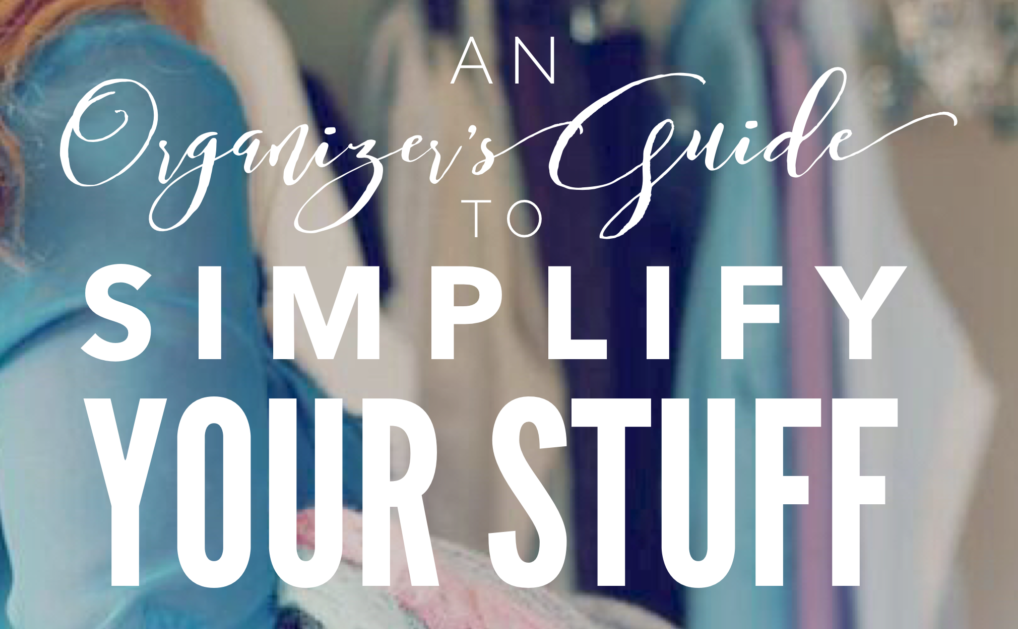 Simplify Your Stuff (PDF Download)