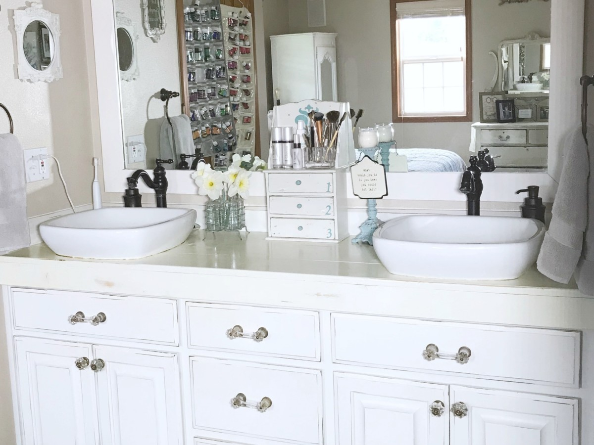 At Home With Vicki | Master Bathroom Organizing Ideas ...