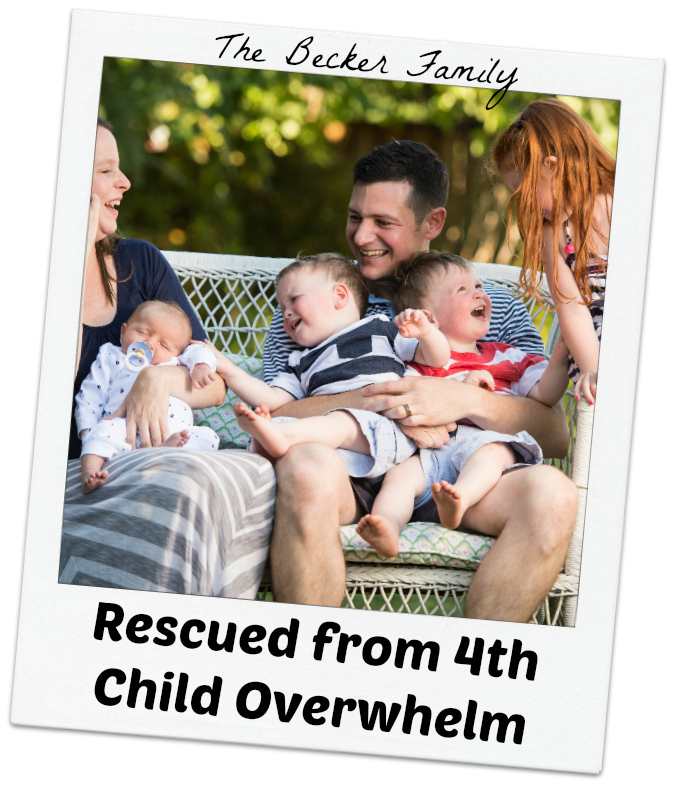 The Becker Family - Rescued from 4th Child Overwhelm
