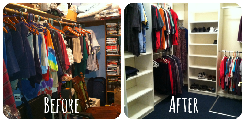 Times of Transition – Clearing Out the Family Home – The Closet