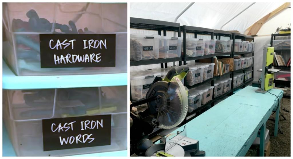 Bins in Workshop