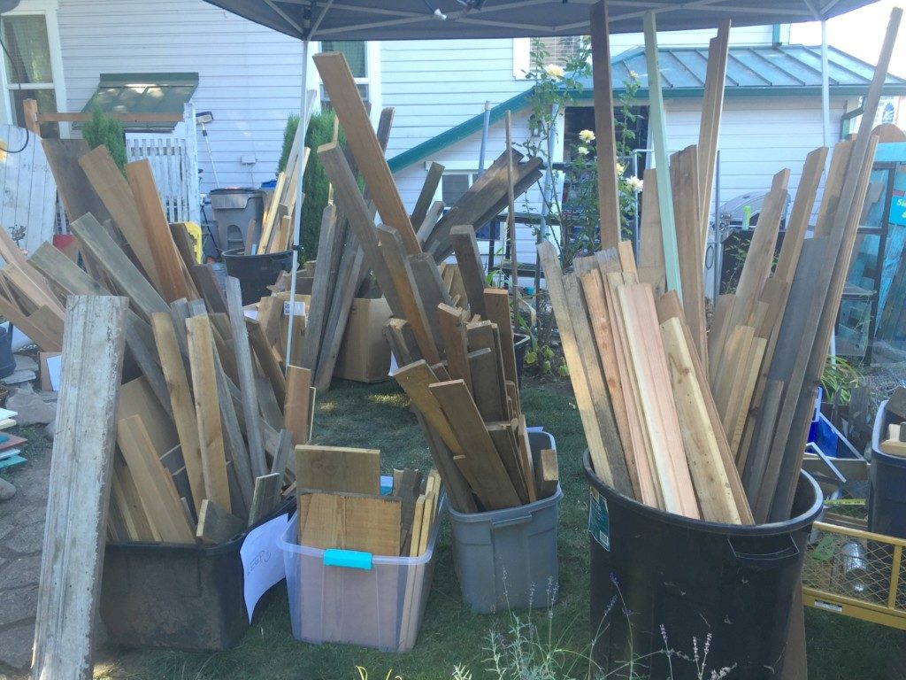 Macro Sorting Wood