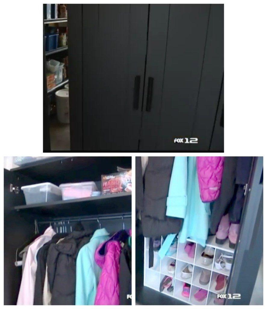 Creative Downsizing Garage Storage Solution
